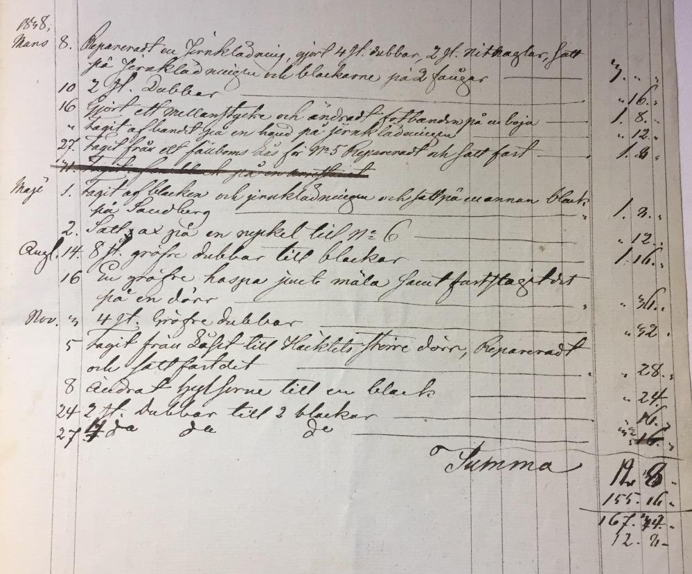 reparation 1838