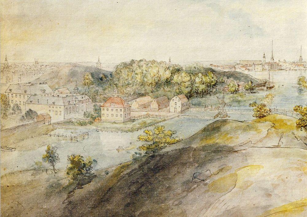 Långholmen 1787 Elias Martin